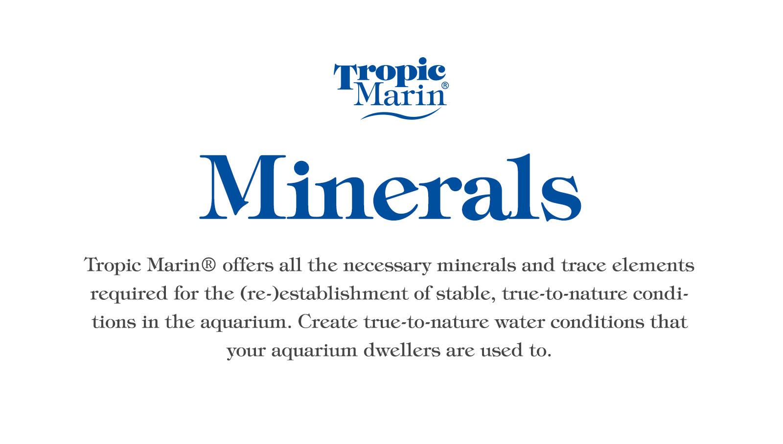 Tropic Marin Minerals