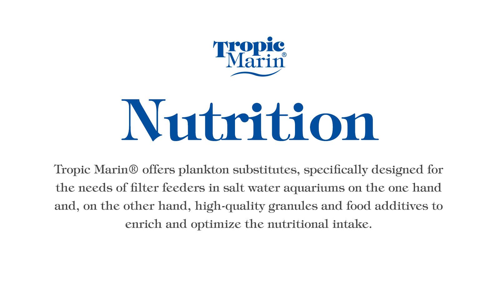 Tropic Marin Nutrition