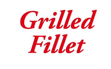 Grilled Fillet